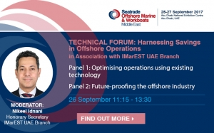 Seatrade Offshore Marine & Workboats Middle East Technical Forum hosted by IMarEST UAE Branch