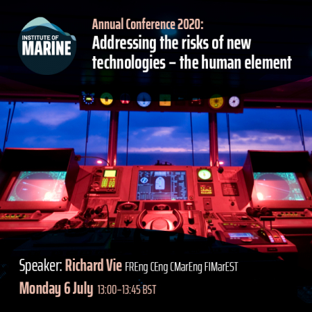 Annual Conference 2020 - Addressing the Risks of New Technologies - The Human Element