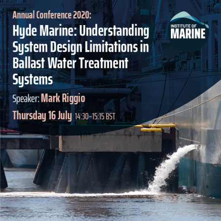 Annual Conference 2020 - Understanding System Design Limitations in Ballast Water Treatment Systems