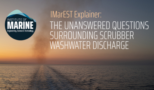IMarEST publishes Explainer on open-loop scrubbers