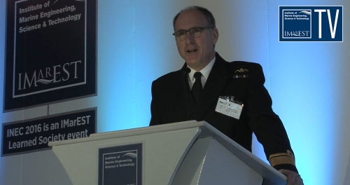 INEC 2016 Keynote Address - Rear Admiral Richard Stokes, Assistant Chief of Naval Staff (Support), Royal Navy, UK