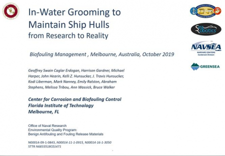 4th ANZPAC Biofouling Workshop