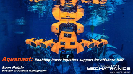 Aquanaut: Enabling lower logistics support for offshore IMR