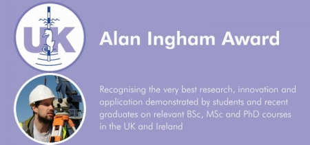 Alan Ingham Award - recognising excellence in students and recent graduates