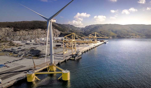 ABS classes the world's largest floating wind turbine