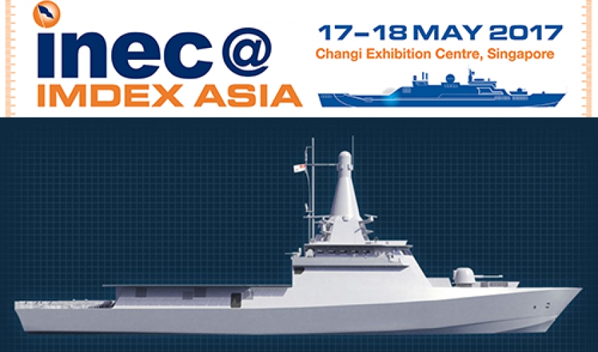 Exclusive look at Singapore Navy Littoral Mission Vessel for INEC@IMDEX Asia 2017 delegates