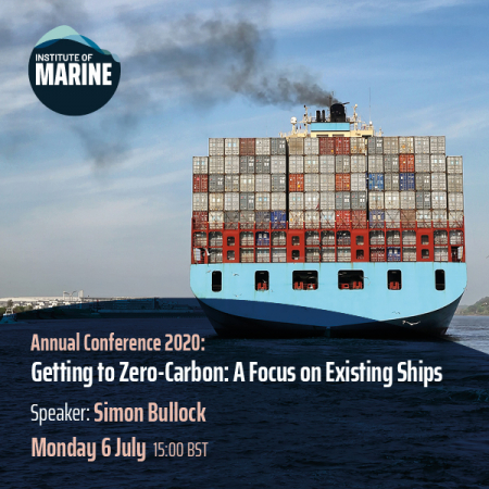 Annual Conference 2020 - Getting to Zero-Carbon: A Focus on Existing Ships