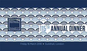 Lloyd's Register and Harris Pye sponsor IMarEST 115th Annual Dinner