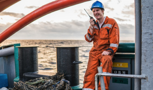 Seafarers on dredgers are the happiest in the sector