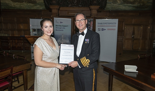 Outstanding engineers celebrated in new Portsmouth Naval Base awards