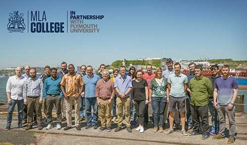 First cohort of MLA College hydrography students come to the end of their studies
