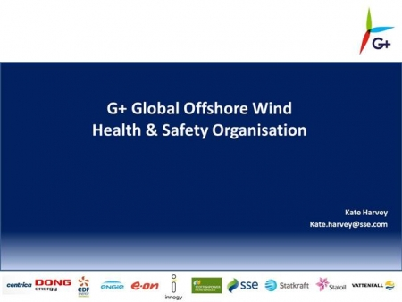 Introduction to G+ Global Offshore Wind Health and Safety Organisation