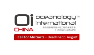 CALL FOR ABSTRACTS: Oceanology International China 2017