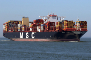 Why did the MSC Zoe lose containers overboard?