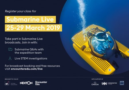 Submarine Live 25-29 March, Registration open