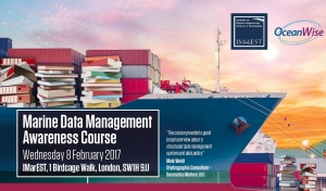 IMarEST to run Marine Data Management Awareness Course with OceanWise