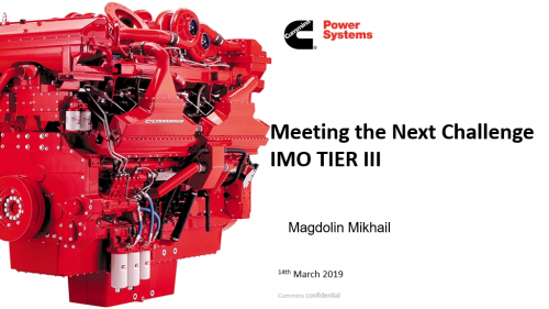 Meeting the next challenge - IMO Tier III