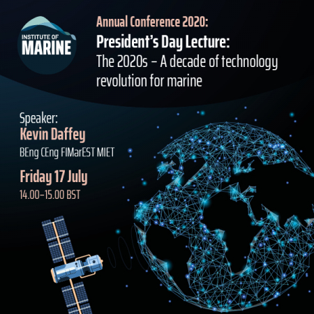 Annual Conference 2020 - President's Day Lecture: The 2020s - A decade of technology revolution for marine