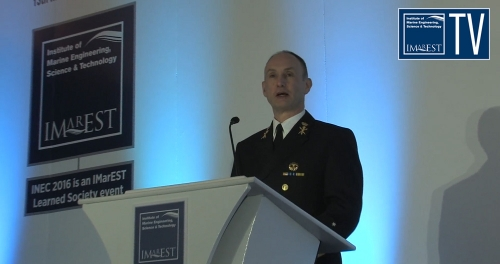 INEC 2016 Keynote Address - Vice Admiral Arie Jan de Waard, Director, Defence Materiel Organisation, the Netherlands