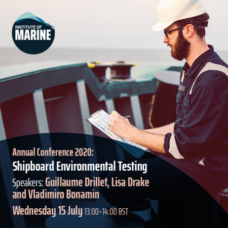 Annual Conference 2020 - Shipboard Environmental Testing