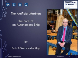 The Artificial Mariner: the core of an Autonomous Ship